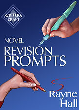 Rayne Hall - Novel revision prompts book cover