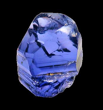 NATURAL BLUE TANZANITE 31.09CTS 20X17X13MM