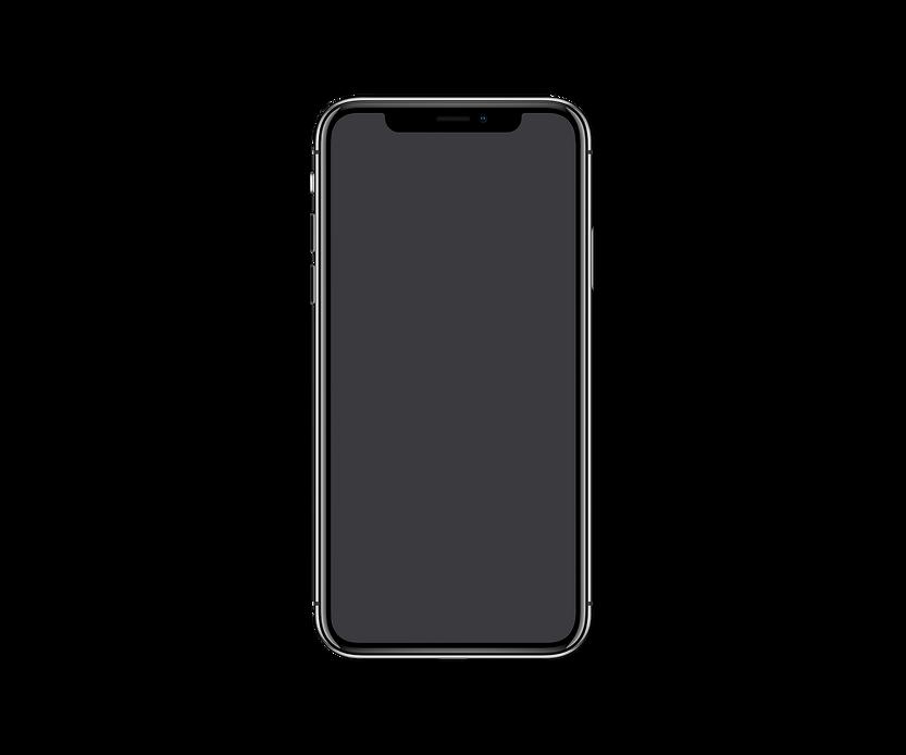 Free Font Screen iPhone X Mockup PSD 201