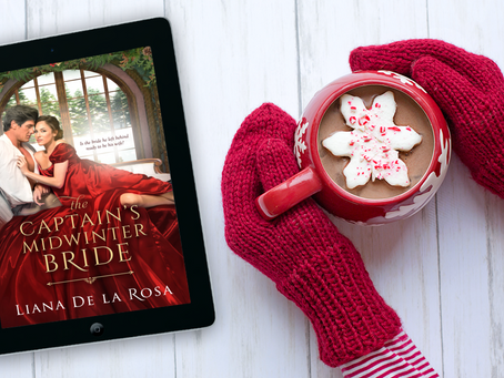 The Captain's Midwinter Bride is here!