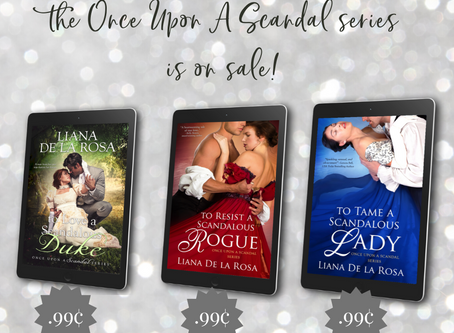 The Entire Once Upon A Scandal series is on sale!