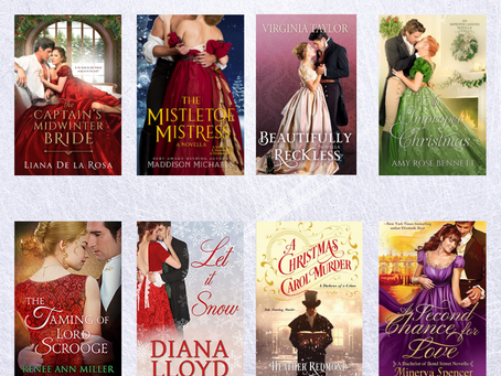 Fill your e-reader with historical holiday romances!
