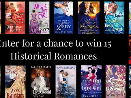 Want to win 15 historical romances?!