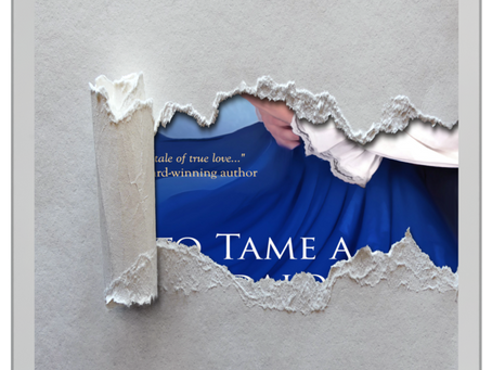Cover Reveal for TO TAME A SCANDALOUS LADY coming soon!