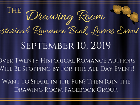 Book Lovers Event in The Drawing Room!