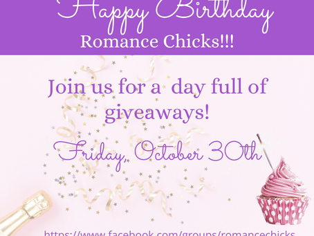 Join us to celebrate the Romance Chicks 4th birthday!
