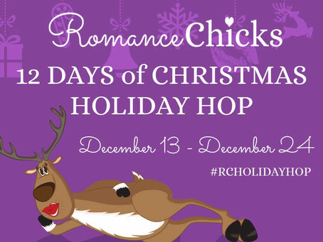 It's Christmas Holiday Hop time with the Romance Chicks!