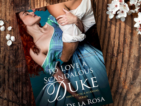 To Love A Scandalous Duke has a new cover!