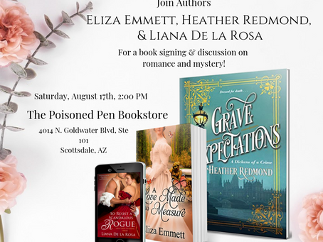 BOOK SIGNING AT POISONED PEN BOOKSTORE