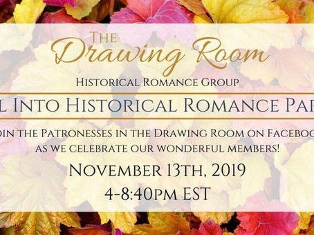 Fall Into Historical Romance in The Drawing Room