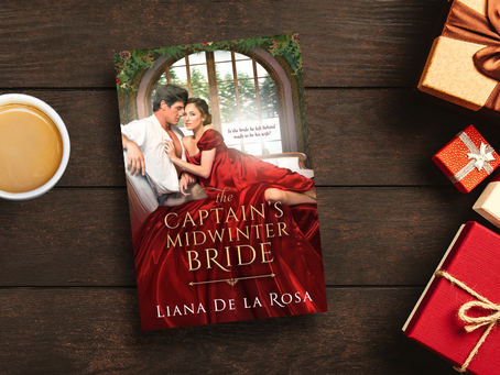 It's 4.5 Stars for The Captain's Midwinter Bride!
