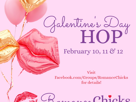 Celebrate Galentine's Day with the Romance Chicks!