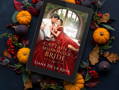 First Chapter Sneak Peek at The Captain's Midwinter Bride