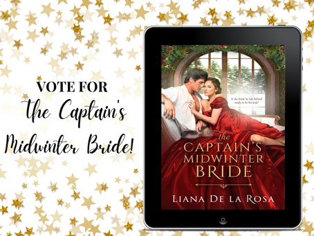 Vote for The Captain's Midwinter Bride!