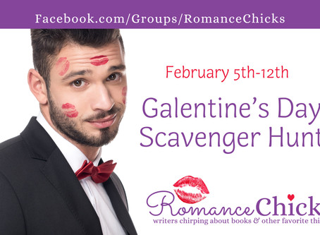 Romance Chicks Galentine's Day Scavenger Hunt