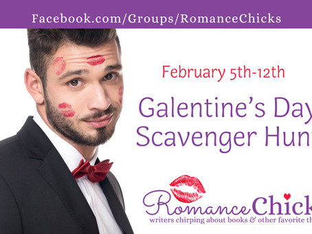 Romance Chicks Galentine's Day Scavenger Hunt