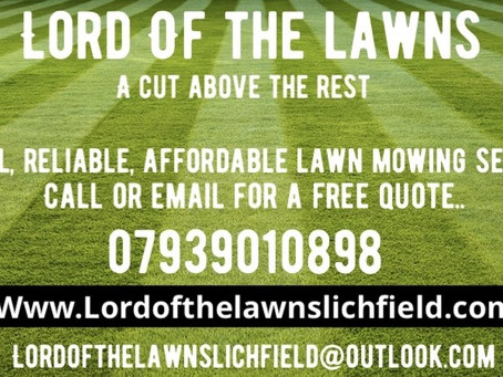 Lord of the Lawns Welcomes YOU!