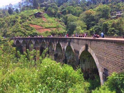 Sri Lanka Eisenbahnbrücke