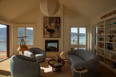 Night Palm Klay Thompson Beach House Living Room