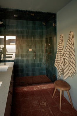 Night Palm Klay Thompson Beach House Bathroom
