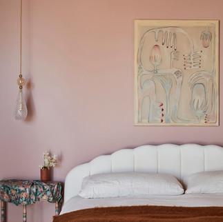 Night Palm Paris Texas Residence - Master Bedroom