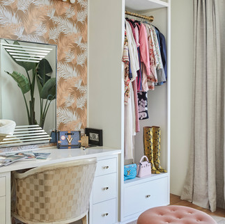 Night Palm Paris Texas Residence - Dressing Room