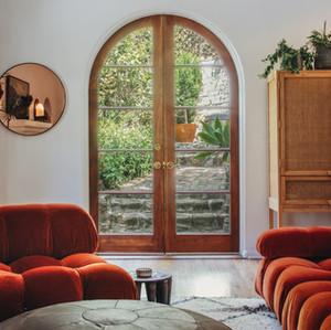 Night Palm Beachwood Canyon Residence Living Room