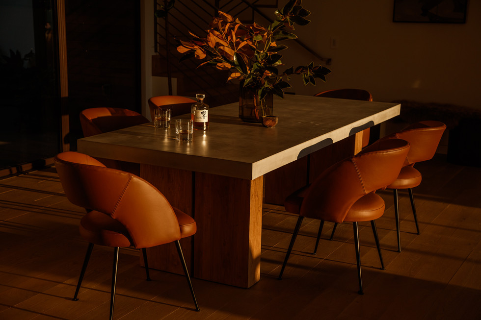 Night Palm Klay Thompson Beach House Dining Room