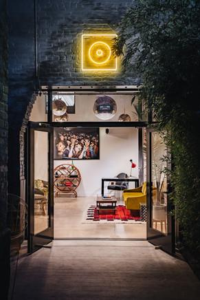 Night Palm Gold Diggers Studio