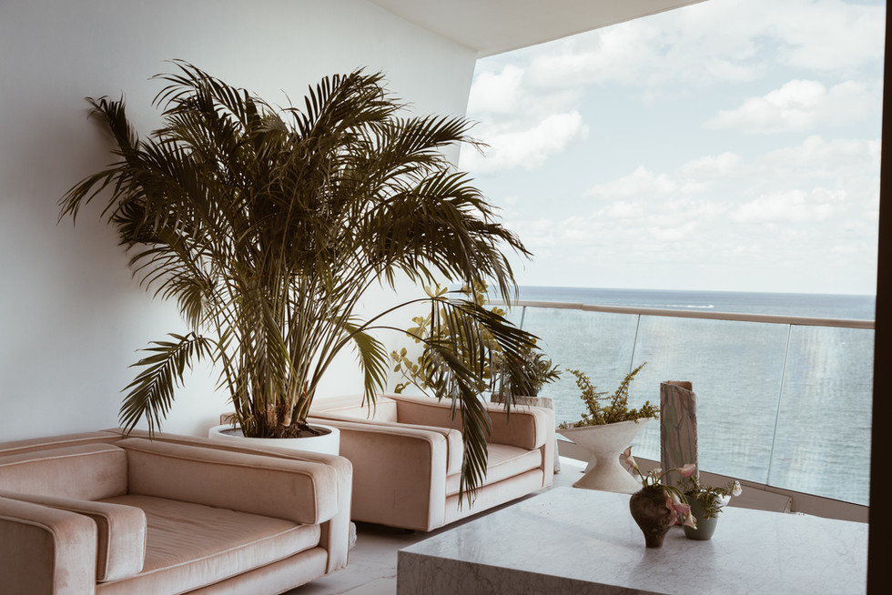 Night Palm Miami Project Balcony