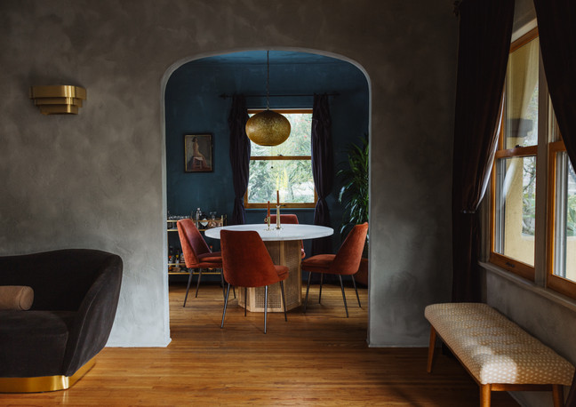 Night Palm Echo Park Residence Dining Room