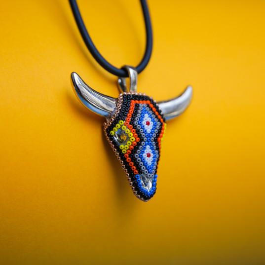 Nayarit bull necklace