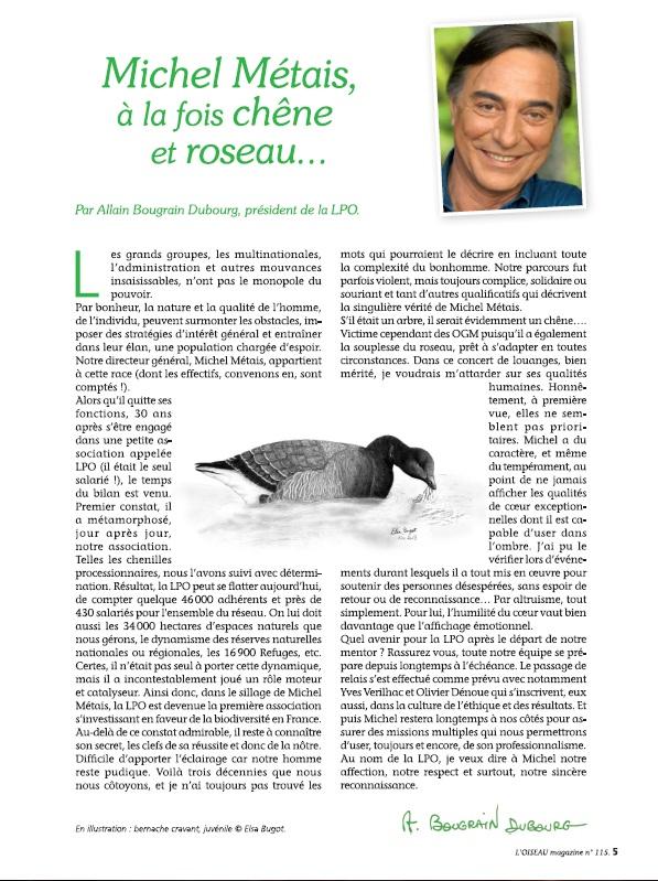 Oiseau Magazine n°115