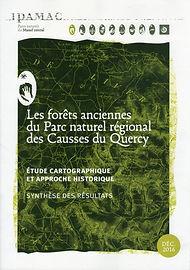 Couverture synthèse cartographique forêts anciennes PNR CQ