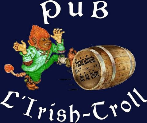 Ancien logo du Pub, L'Irish-Troll