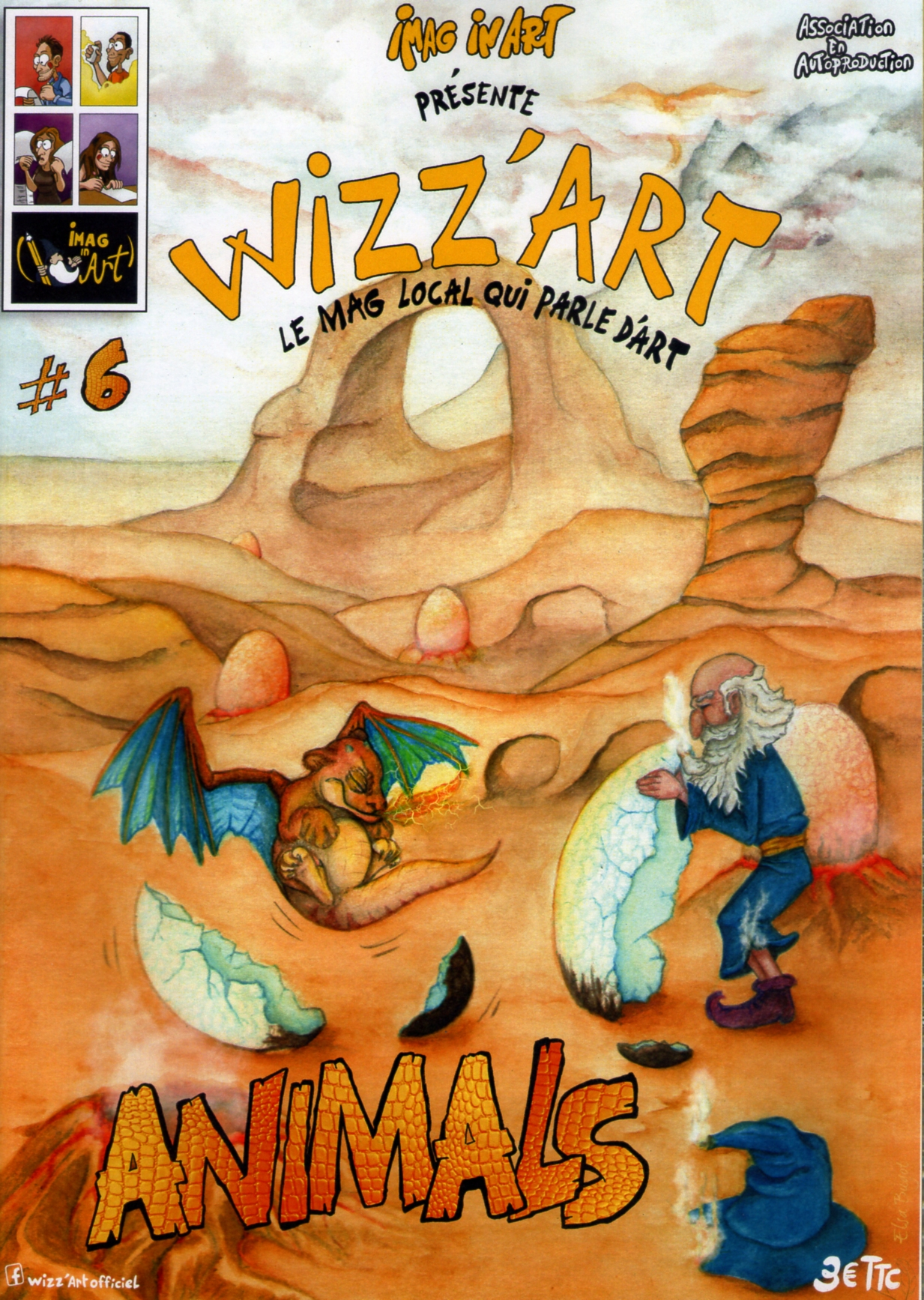 Couverture du Wizz'art n°6