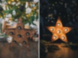 Звезда с лампами. Аренда. Москва
