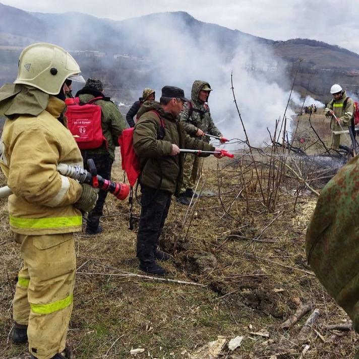 Противопожарные учения.