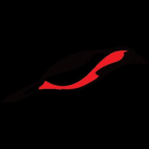 Digital Bird Series – Scarlet Tanager