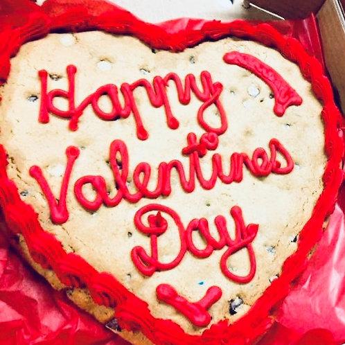 Sat, Feb 6th - Valentine Choc Chip Cookie Gram @ 10am