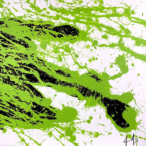 Cloud Bursting Series – Green Dragon