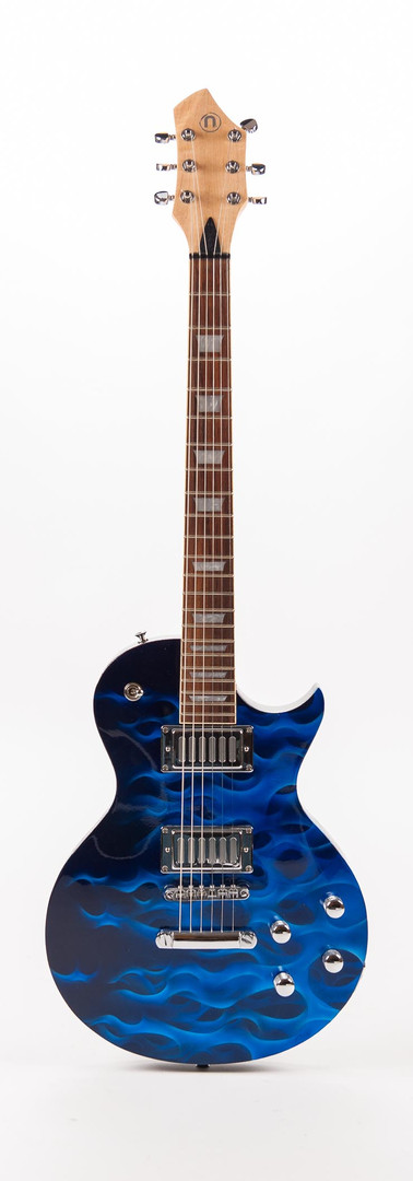 Blue Thunder Guitar