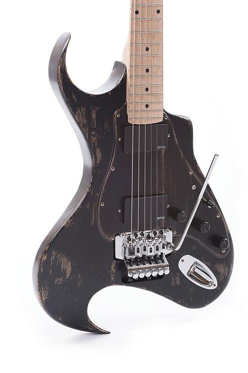 n. guitars – Little Fin Classic   Black Weathered