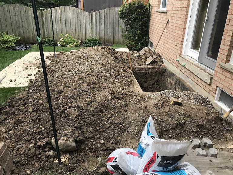 excavation and waterproofing