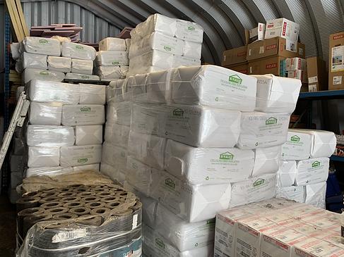 Candadian Cellulose fibre attic insulation