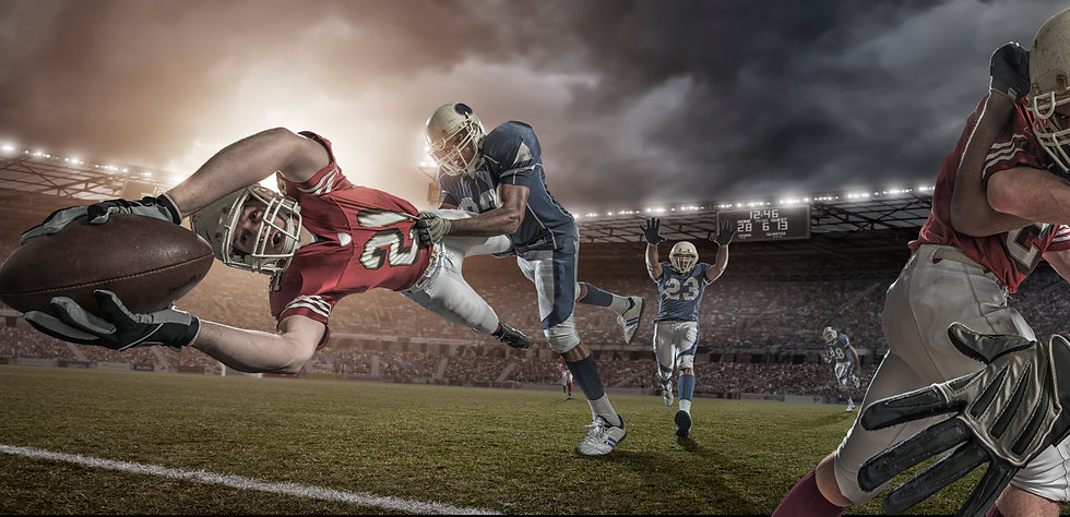 American-Football-Player-in-Mid-Air-Touc
