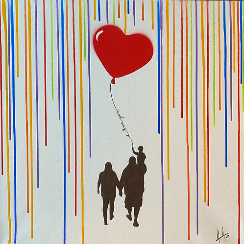 Protected Love Painting