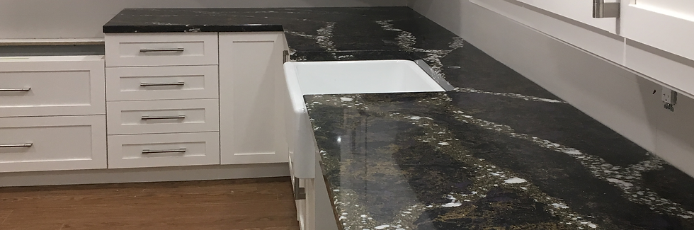 beautiful kitchen counter quartz
