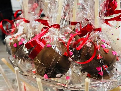 Tues, Feb 9th - Valentine Cake pops @ 4pm