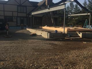 Pool House RoofAddition